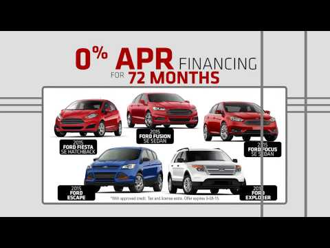 Smail Ford Summer Event Up to 0% APR for 72 months!