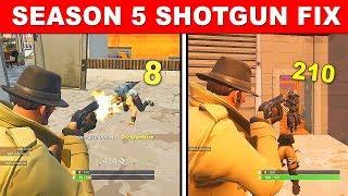 How to Use Pump Shotgun Efficiently in Fortnite Season 5 - BEST Shotgun Tips and Tricks Tutorial