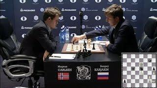 Карлсен - Карякин. 8 партия матча. Краткий обзор