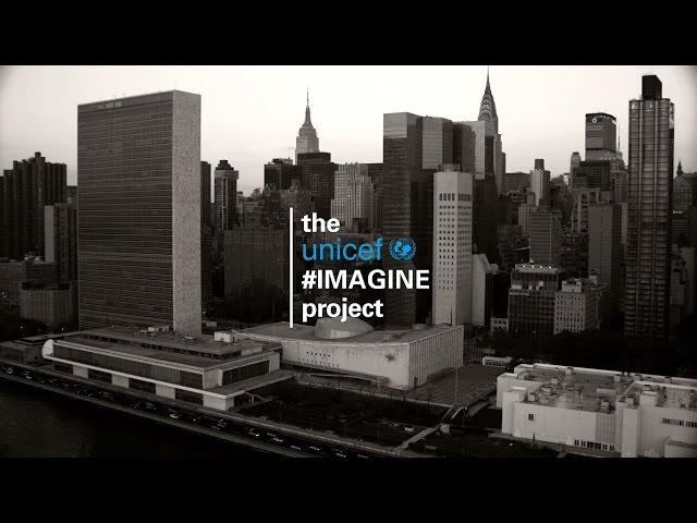 La campaña de Unicef #IMAGINE une a famosos a favor de los niños refugiados de todo el mundo con un tema de John Lennon