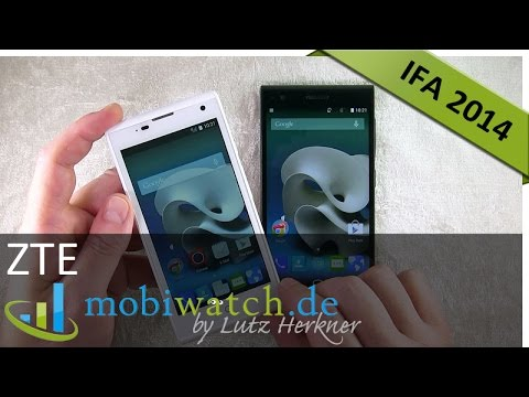 IFA: ZTE Kis3 Max + Blade Vec 3G im Video-Test