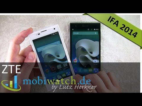 IFA: ZTE Kis3 Max + Blade Vec 3G im Video-Test