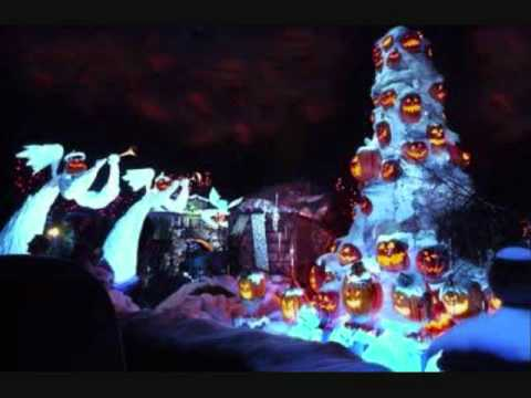 Haunted Mansion Holiday original graveyard music