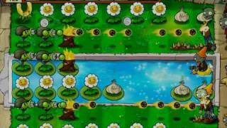 Plants Vs Zombies - Last Stand Money Farming Layout