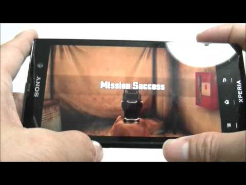 Sony Xperia ion game test