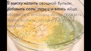 """Рецепты первых блюд:Суп с лисичками и укропом """"Неженка"""""""