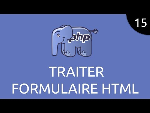 PHP #15 - Traiter Formulaire HTML