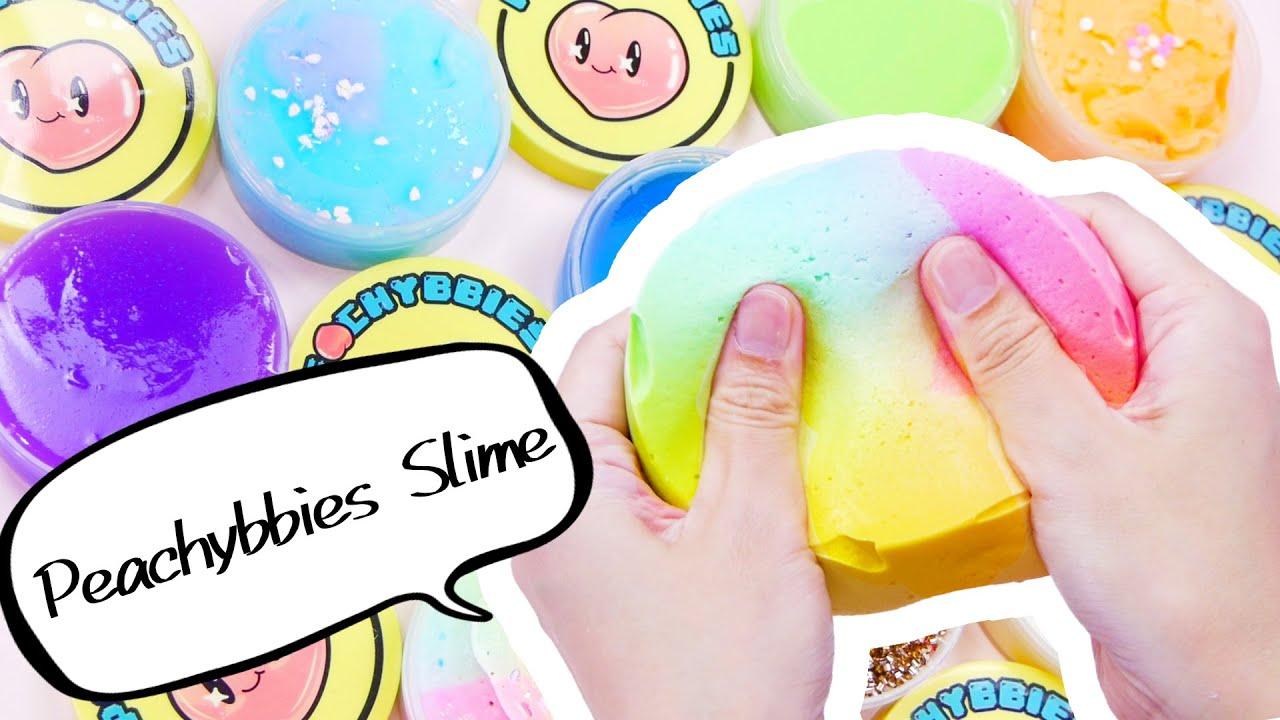 【ASMR】Peachybbies Slime【音フェチ】