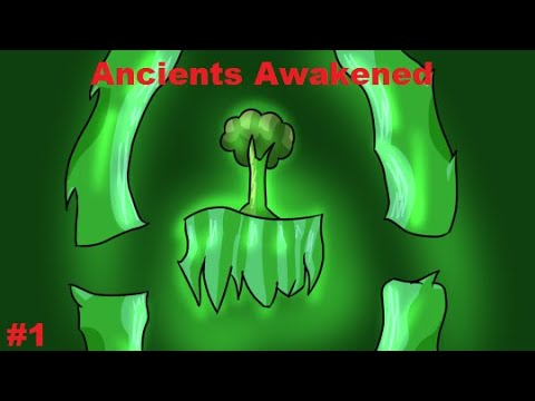 Terraria Ancients Awakened Playthrough Episode one: Incredible Luck!