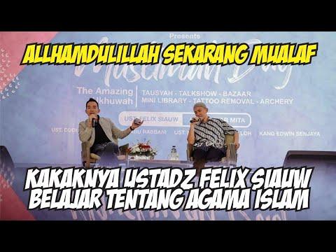 Cerita Koh Freddy - Kakak dari Ustadz Felix Siauw - belajar tentang agama Islam