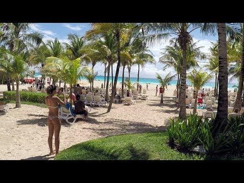 Riu Playacar, Playa Del Carmen, Riviera Maya, Mexico, full tour gopro