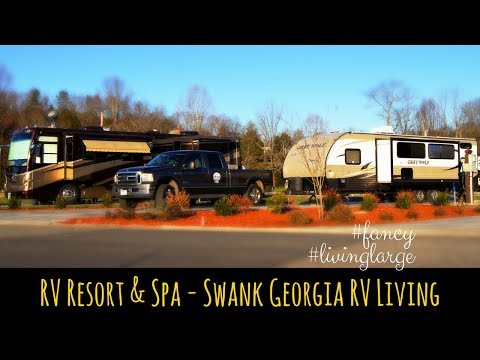 RV Resort & Spa In North Georgia - Swank RV Living At Crossing Creeks