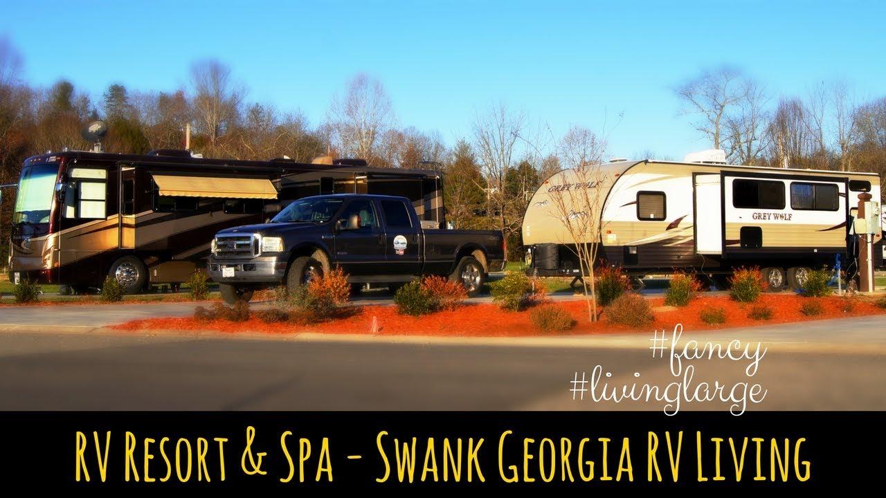 RV Resort & Spa in North Georgia - Swank RV Living at Crossing Creeks