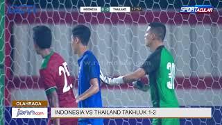Lengah di Pertahanan, Timnas Indonesia Kalah Lawan Thailand - JPNN.COM