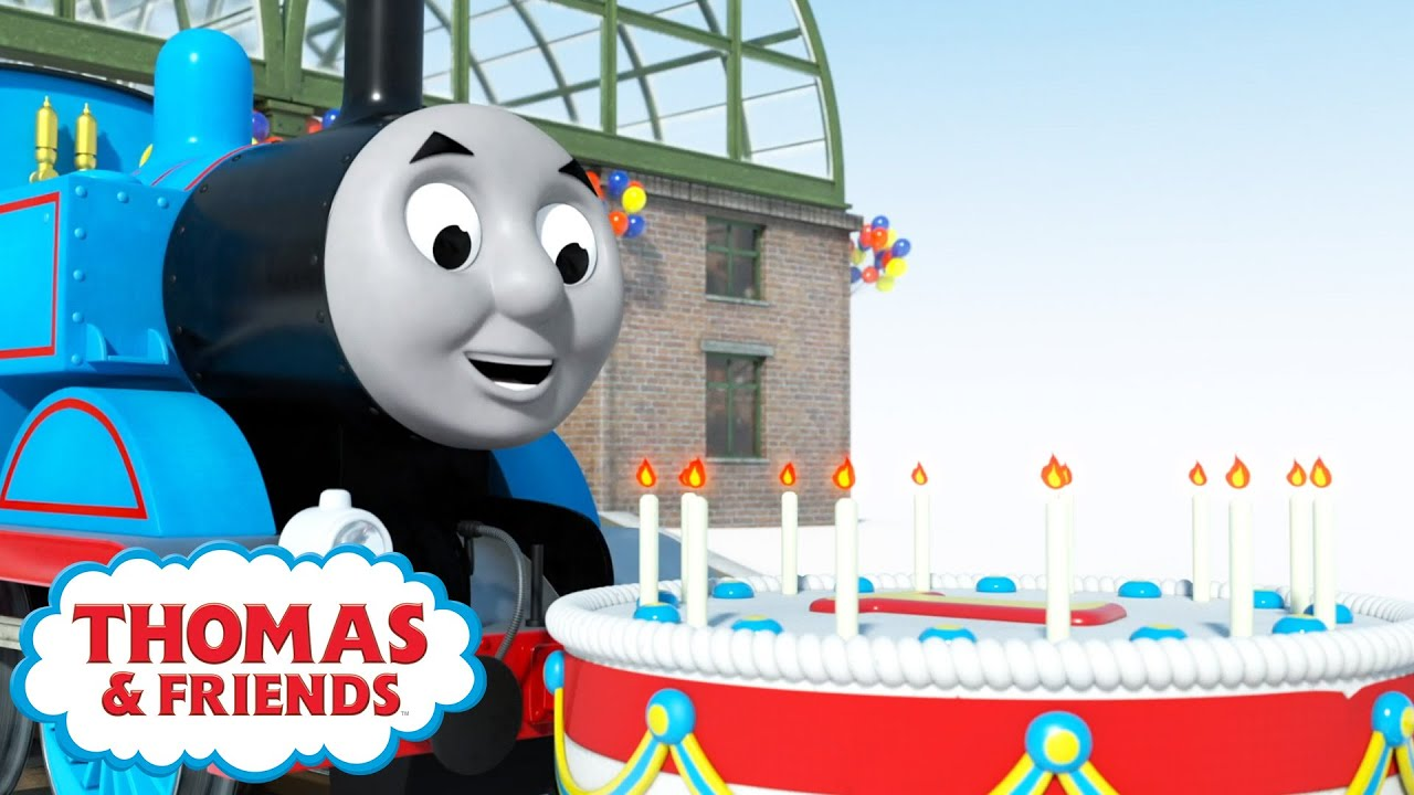 Download Thomas & the Birthday Surprise   BRAND NEW   Magical Birthday Wishes   Thomas & Friends™   Cartoons