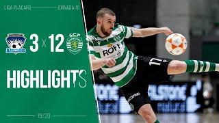Futsal | Resumo: Futsal Azeméis x Sporting CP