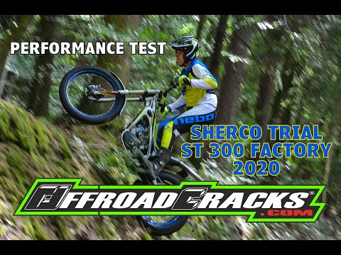 SHERCO ST 300 Factory: Wieviel Leistung hat ein Trail bike?/How much power does a trials bike make?