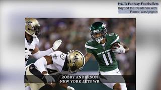 Beyond the Headlines with Renee Washington, Ep. 21- Will's Fantasy Footballers- Robby Anderson