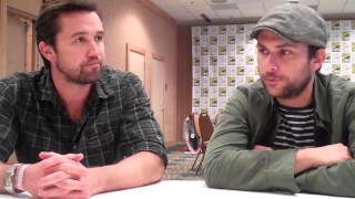 Repeat youtube video It's Always Sunny's Charlie Day and Rob McElhenney Interview