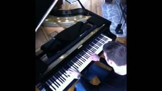A Team Theme Song solo piano
