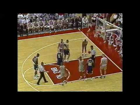 Buckeye Basketball: #5 Ohio State 77, #18 Michigan 66 (March 3, 1992)