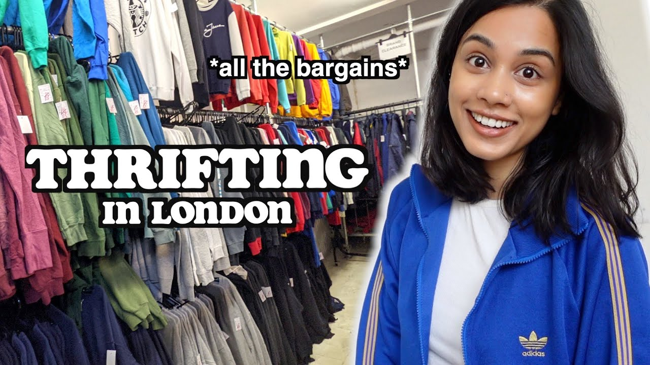 come thrifting in london with me + thrift haul | clickfortaz