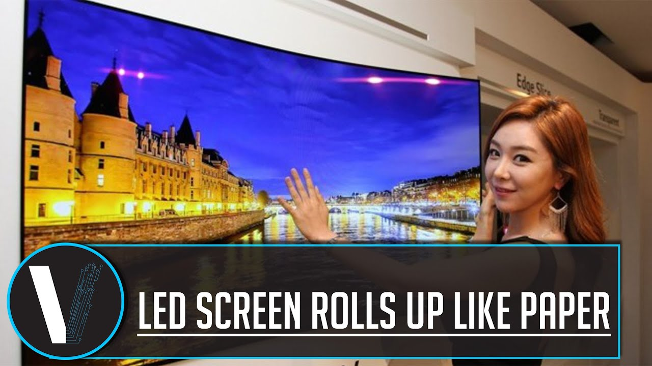 how to make led tv screen