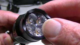 Astrolux S43 USB Rechargeable Flashlight. 1600 lumens