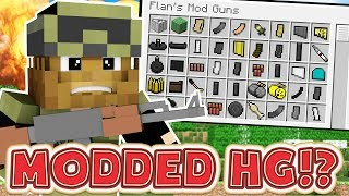 OVERPOWERED INVENTORY PETS MODDED HUNGER GAMES - MINECRAFT MOD CHALLENGE #6