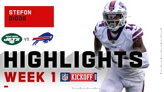 Stefon Diggs Hauls In 8 Catches In Bills Debut | NFL 2020 Highlights