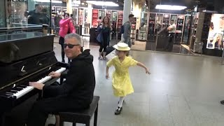 Adorable Little Flower Brightens Up The Station