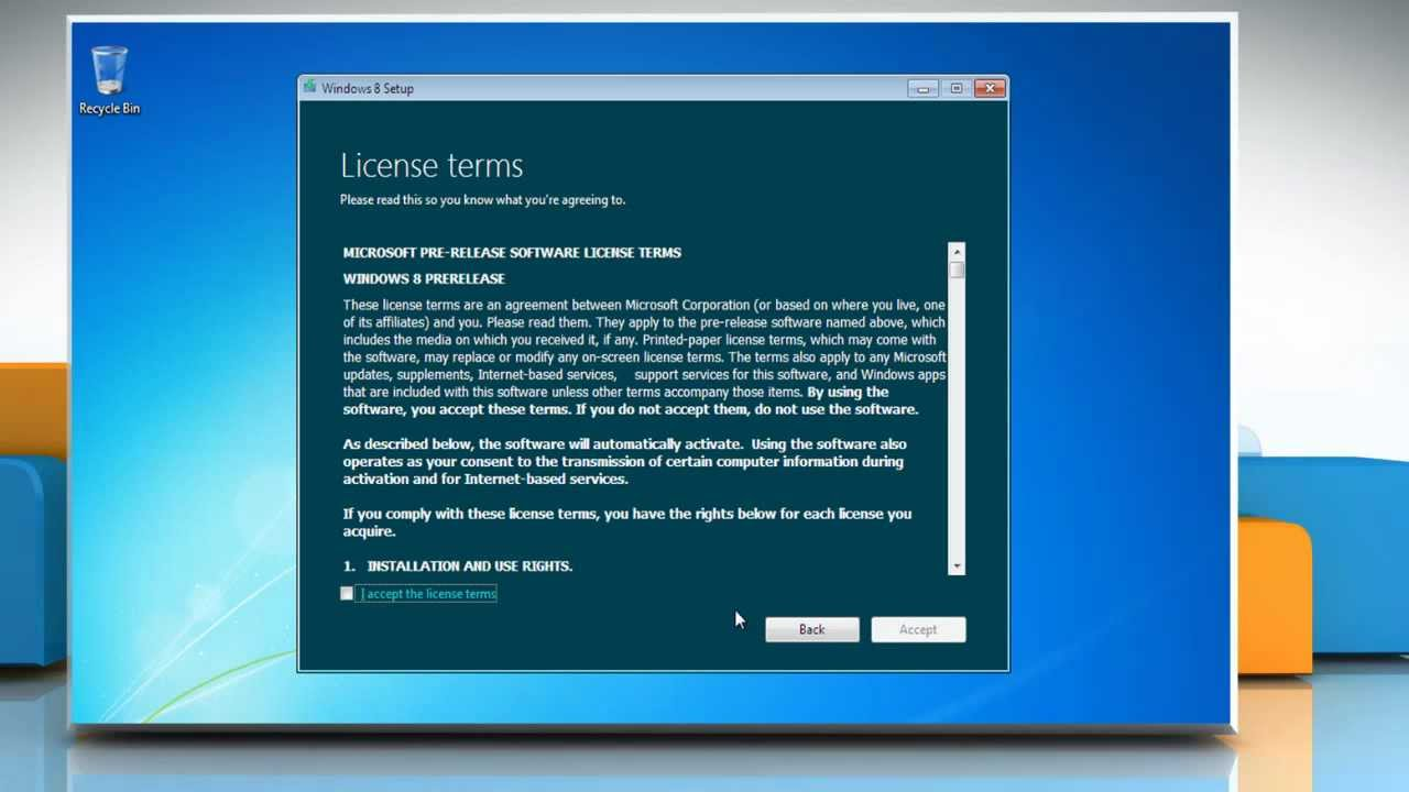 How to upgrade to windows 8 14