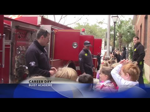 Rob Fowler visits Career Day at Buist Academy