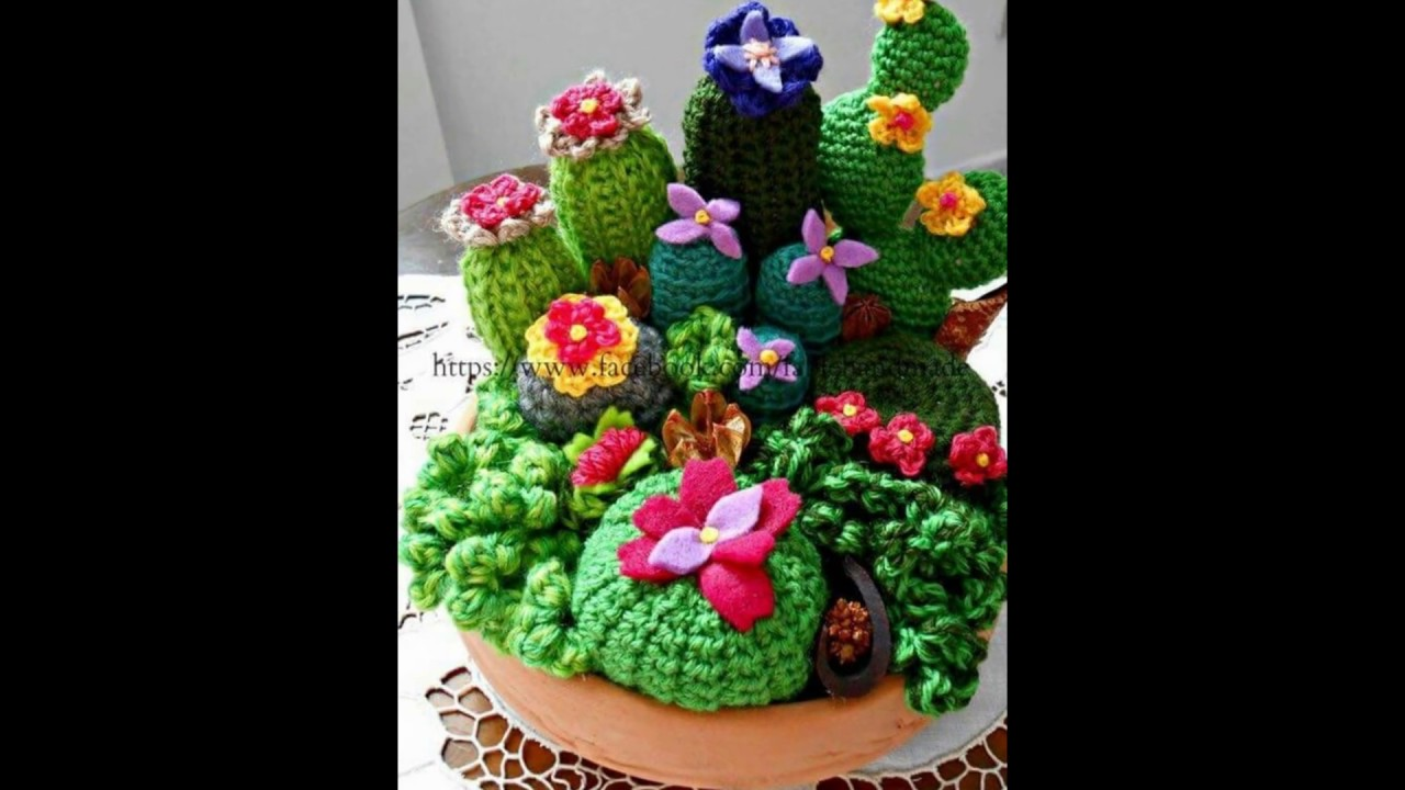 Tutorial de crochet/ganchillo, cactus facil de hacer. - YouTube ... | 720x1280