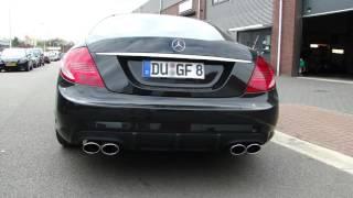 MERCEDES CL 500 DUPLEX AMG EXHAUST SOUND UITLAAT   SPORTUITLAAT by www maxiperformance nl