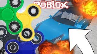 NISZCZYMY AUTA SPINNERAMI? | Car Crushers 2! | ROBLOX #173