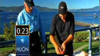 Bacon Wrapped Huon Salmon - Seafood In 60 Seconds