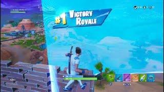 Victory Royal Solo's High Kill Game. Sweaty football skin