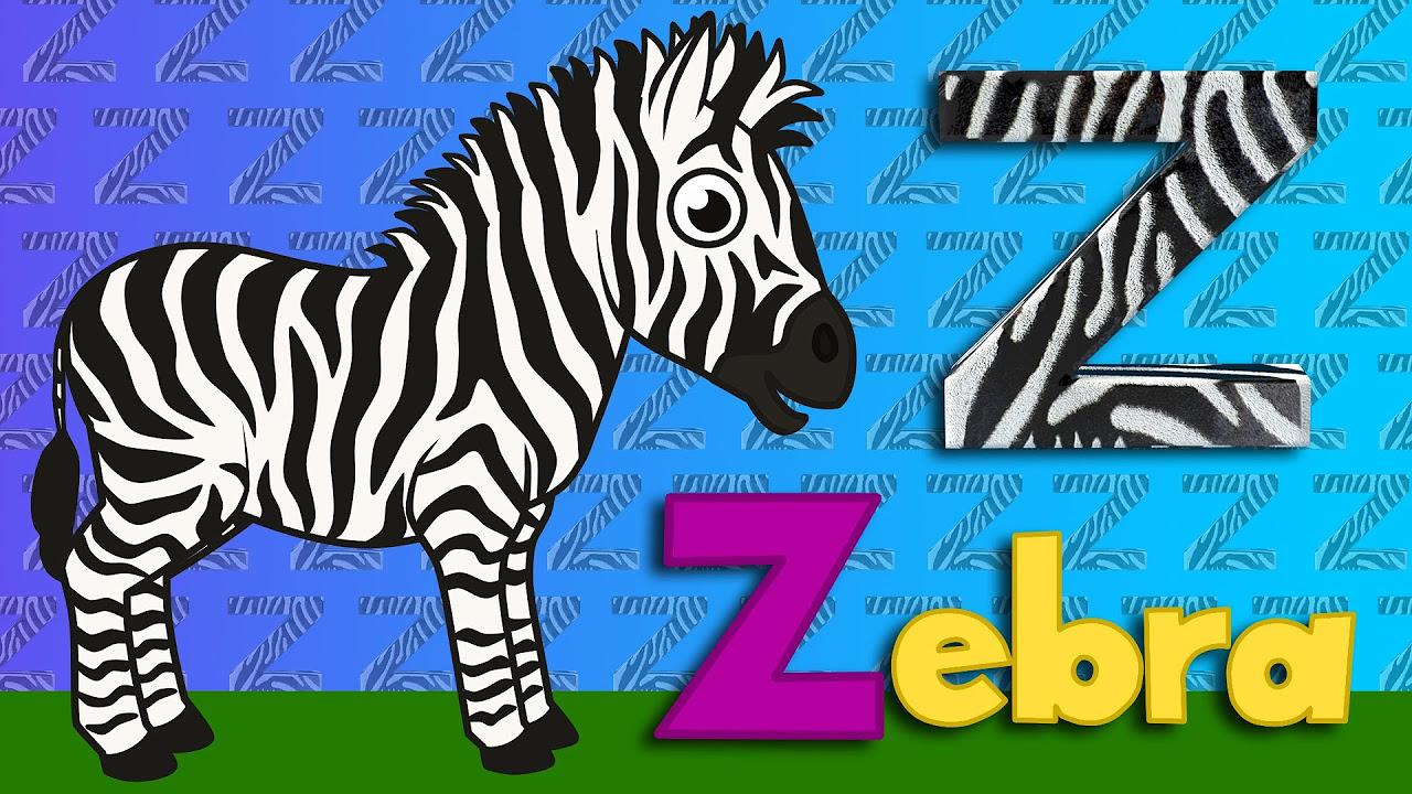 Z Harfi - ABC Alfabe SEVİMLİ DOSTLAR Eğitici Çizgi Film Çocuk Şarkıları Videoları