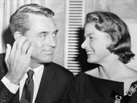 Ingrid Bergman & Cary Grant