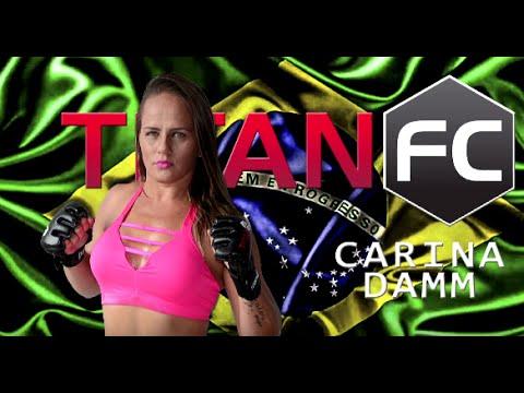 Titan FC 41: Carina Damm - Personality