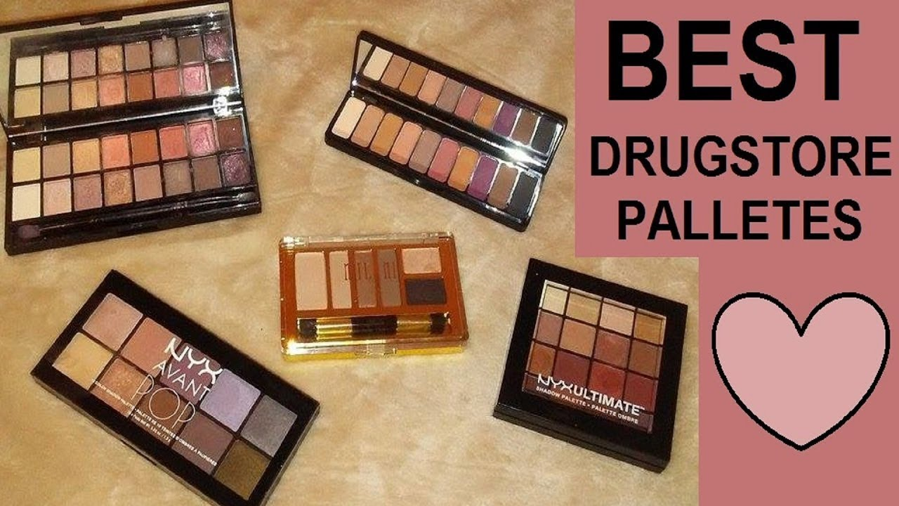 Top 5 Drugstore Eyeshadow Palettes 2018!!! - YouTube