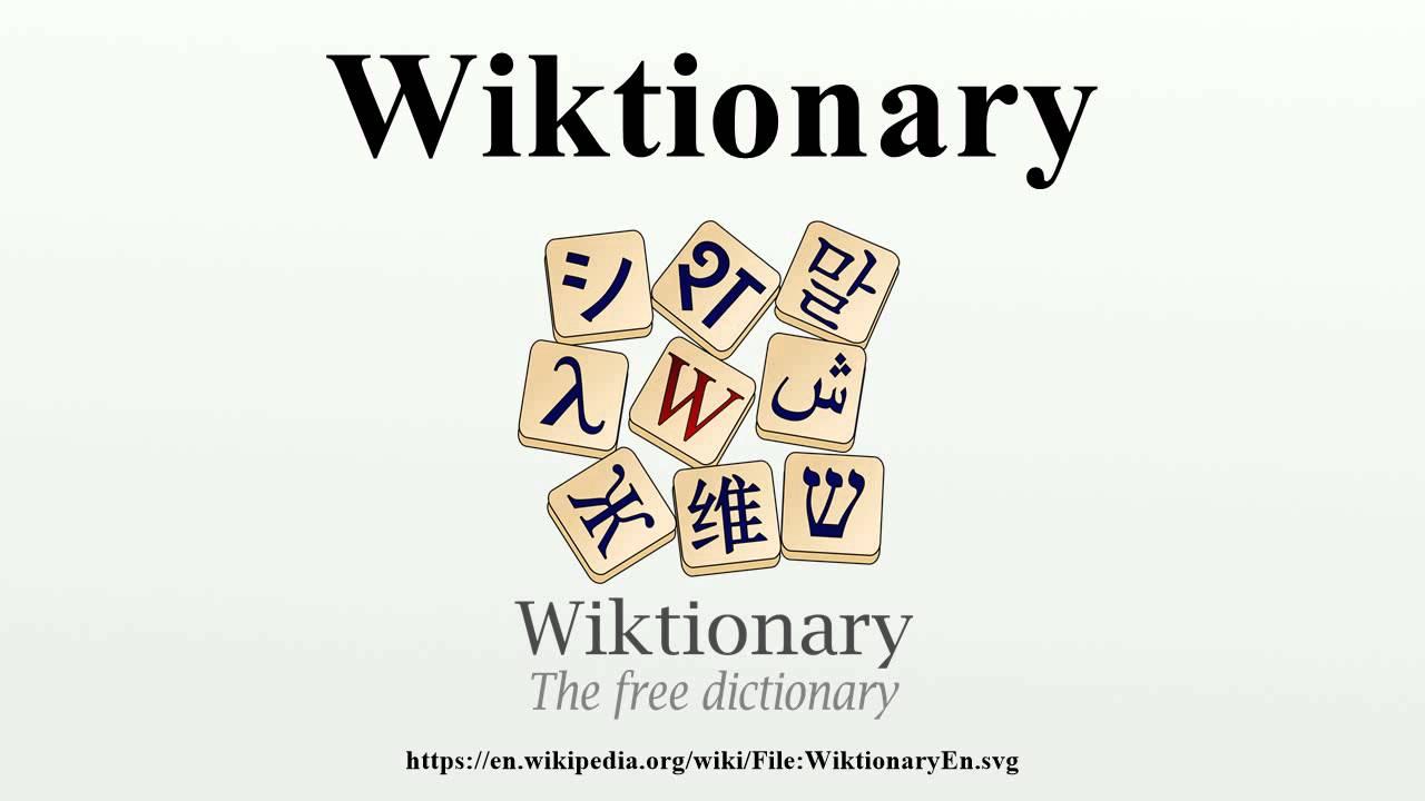 9f02b537b2 Wiktionary - YouTube