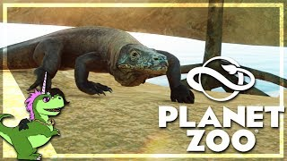 PLANET ZOO : Dragon de KOMODO ! #1