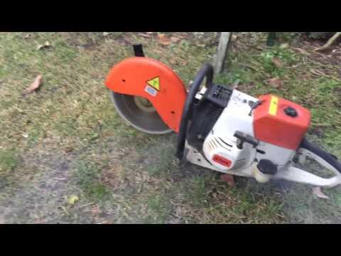 Stihl TS 360 YouTube