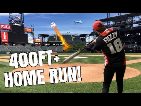 Can I Hit a Home Run at COORS FIELD? 400FT DINGER! IRL Baseball Challenge