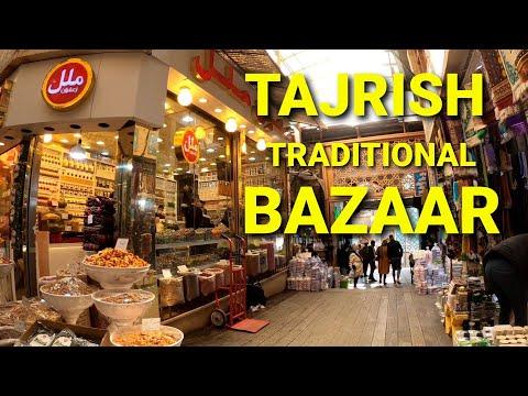 Tajrish Traditional Bazaar, Tehran, IRAN بازار سنتی تجریش