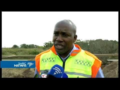 Road repair begins on Richards Bay sinkhole