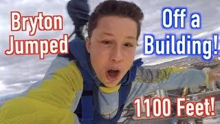 Should I jump? Las Vegas Stratosphere! Bryton Myler