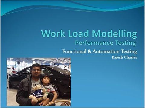 47 Performance Testing WorkLoad Modelling